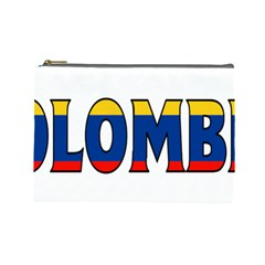 Colombia Cosmetic Bag (large)