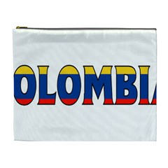 Colombia Cosmetic Bag (XL)