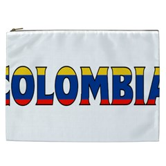 Colombia Cosmetic Bag (xxl)