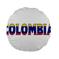 Colombia 15  Premium Round Cushion