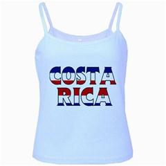 Costa Rica Baby Blue Spaghetti Tank