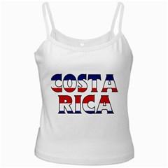 Costa Rica White Spaghetti Top