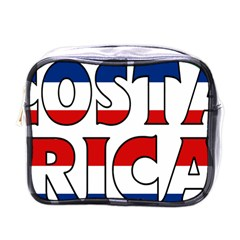 Costa Rica Mini Travel Toiletry Bag (One Side)