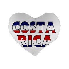 Costa Rica 16  Premium Heart Shape Cushion