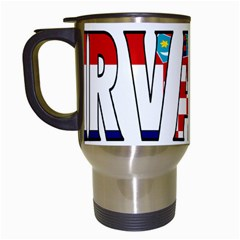 Croatia Travel Mug (White)