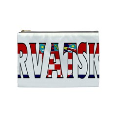 Croatia Cosmetic Bag (Medium)
