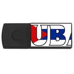 Cuba 2GB USB Flash Drive (Rectangle)