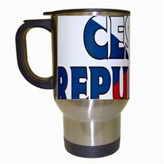 Czech Travel Mug (white)