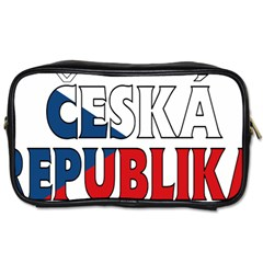 Czech Travel Toiletry Bag (One Side)