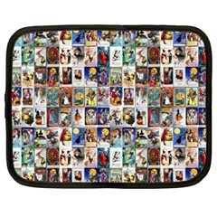Vintage Halloween Netbook Case (XXL)