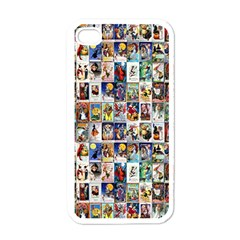 Vintage Halloween Apple iPhone 4 Case (White)