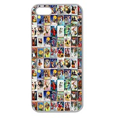 Vintage Halloween Apple Seamless iPhone 5 Case (Clear)