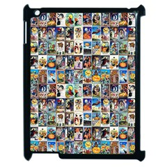 Vintage Halloween Apple iPad 2 Case (Black)