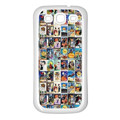 Vintage Halloween Samsung Galaxy S3 Back Case (White)