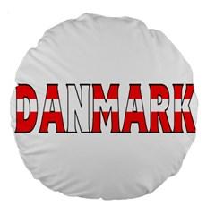 Denmark 18  Premium Round Cushion