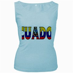 Ecuador Womens  Tank Top (Baby Blue)