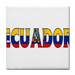 Ecuador Face Towel