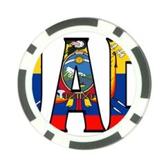 Ecuador Poker Chip 10 Pack