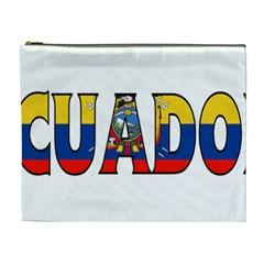 Ecuador Cosmetic Bag (XL)