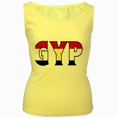 Egypt Womens  Tank Top (yellow)