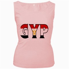 Egypt Womens  Tank Top (Pink)