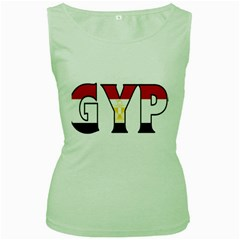 Egypt Womens  Tank Top (Green)