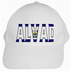 El Salvador White Baseball Cap