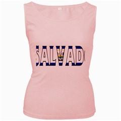 El Salvador Womens  Tank Top (Pink)