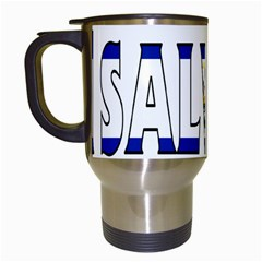 El Salvador Travel Mug (White)
