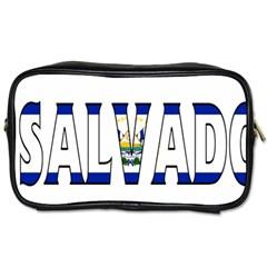 El Salvador Travel Toiletry Bag (One Side)