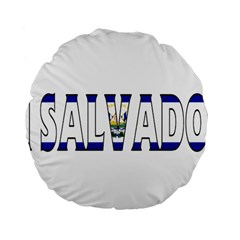 El Salvador 15  Premium Round Cushion