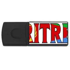 Eritrea 4gb Usb Flash Drive (rectangle)
