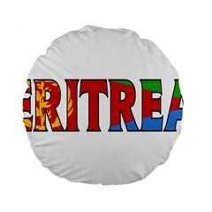 Eritrea 15  Premium Round Cushion