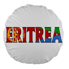 Eritrea 18  Premium Round Cushion