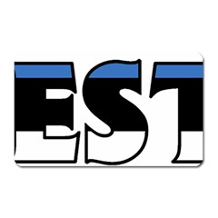 Estonia Magnet (Rectangular)