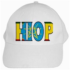 Ethiopa White Baseball Cap