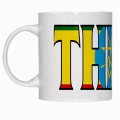 Ethiopa White Coffee Mug