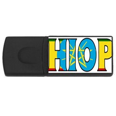 Ethiopa 2GB USB Flash Drive (Rectangle)