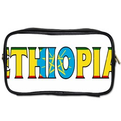 Ethiopa Travel Toiletry Bag (One Side)