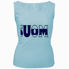 Finland Womens  Tank Top (baby Blue)