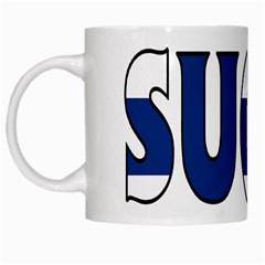 Finland White Coffee Mug
