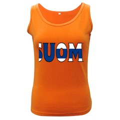 Finland Womens  Tank Top (Dark Colored)