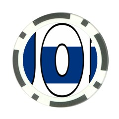 Finland Poker Chip 10 Pack
