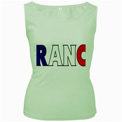 France Womens  Tank Top (green)