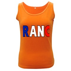 France Womens  Tank Top (dark Colored)