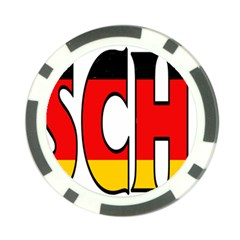 Germany2 Poker Chip 10 Pack