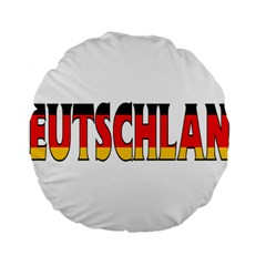 Germany2 15  Premium Round Cushion