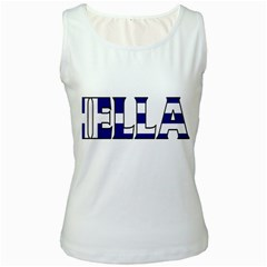 Greece Womens  Tank Top (white)