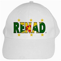 Grenada White Baseball Cap