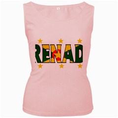 Grenada Womens  Tank Top (Pink)